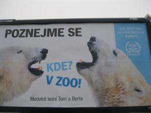 Reklama Zoologické zahrady Praha